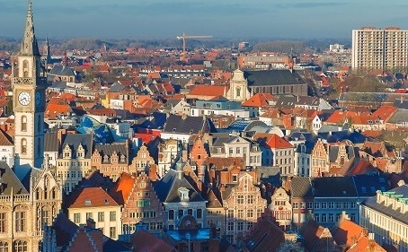 Luchtfoto Gent